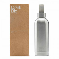 Drink Big |Bouteille Classic Silver