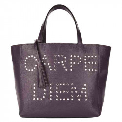 Cabas PARISIEN CARPE DIEM Purple | LOXWOOD